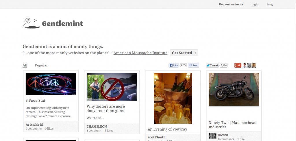 3 Alternatives to Pinterest 3 Alternatives to Pinterest Gentlemint home page