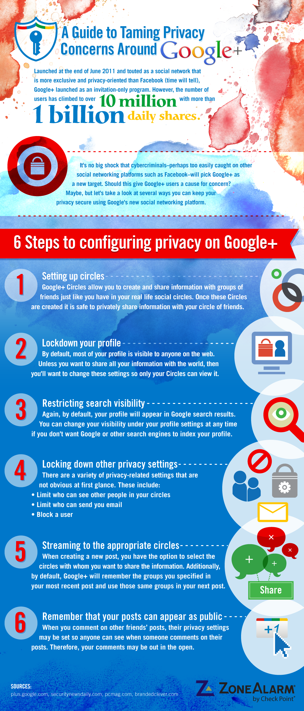 A Guide to Taming Privacy Concerns Around Google+