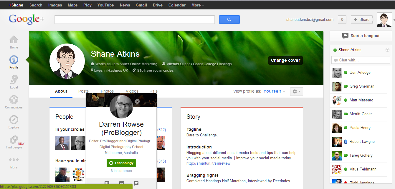 New Google+ Look Pinterest and Google+ Receive a MakeOver Pinterest and Google+ Receive a MakeOver New Google  Look