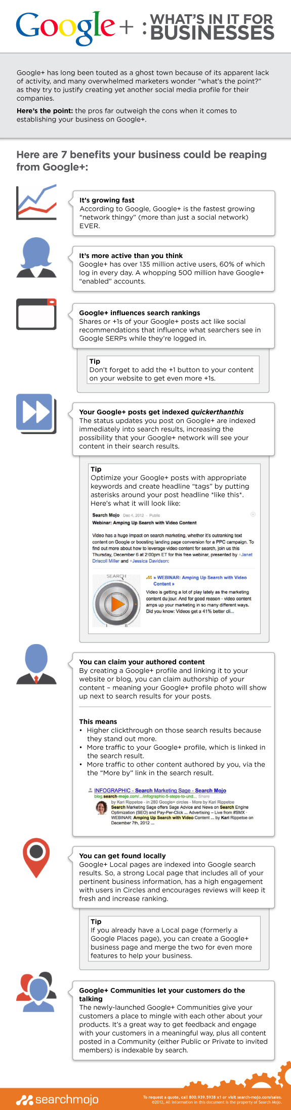 Google+ for business 7 Benefits To Using Google+ For Business 7 Benefits To Using Google+ For Business google whats in it for businesses 510687cb6b833