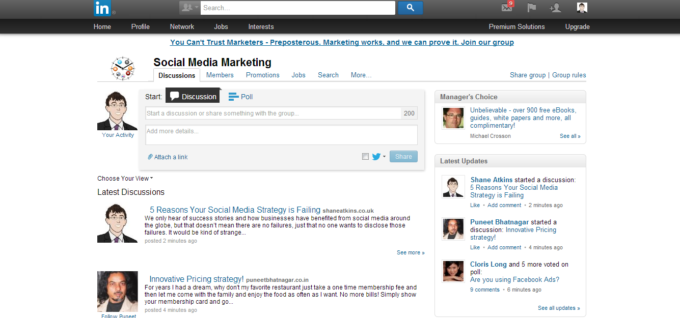 LinkedIn Post in Group How your Business can Post to Groups on Social Media? How your Business can Post to Groups on Social Media? LinkedIn Post in Group