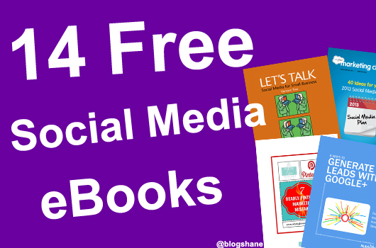 14 free social media marketing ebooks