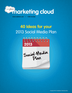 40 Ideas for your  2013 Social Media Plan 14 Free Social Media Marketing eBooks for Your Small Business 14 Free Social Media Marketing eBooks for Your Small Business image 3
