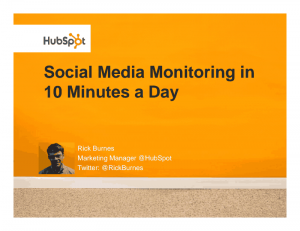 Social Media Monitoring in 10 Minutes day 14 Free Social Media Marketing eBooks for Your Small Business 14 Free Social Media Marketing eBooks for Your Small Business image 5