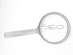 Seo magnifying glass  12 Easy SEO Tips To Transform Your Website 3